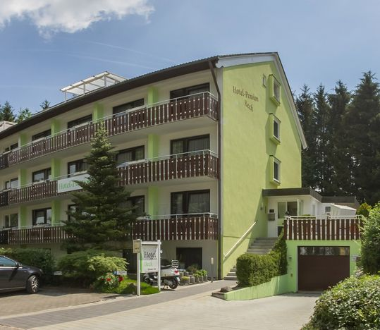 Hotel Pension Beck Bad Waldsee Außenansicht